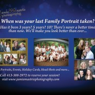 Time to update your family portrait?